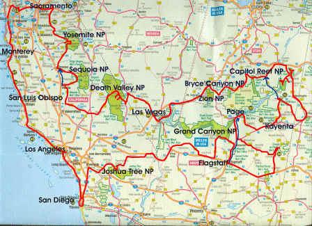 Tour De Coast  Route